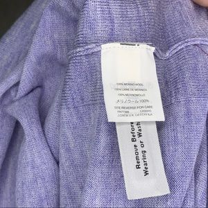 J. Crew Sweaters - J. Crew Merino V-neck Sweater Drawstring Sleeves